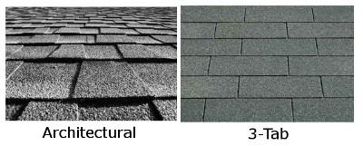 3-Tab Vs. Architectural