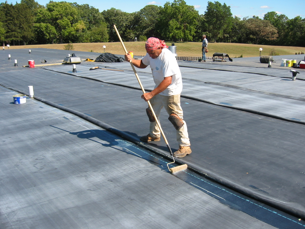 Rubber Membrane Roofing : Commercial roofing