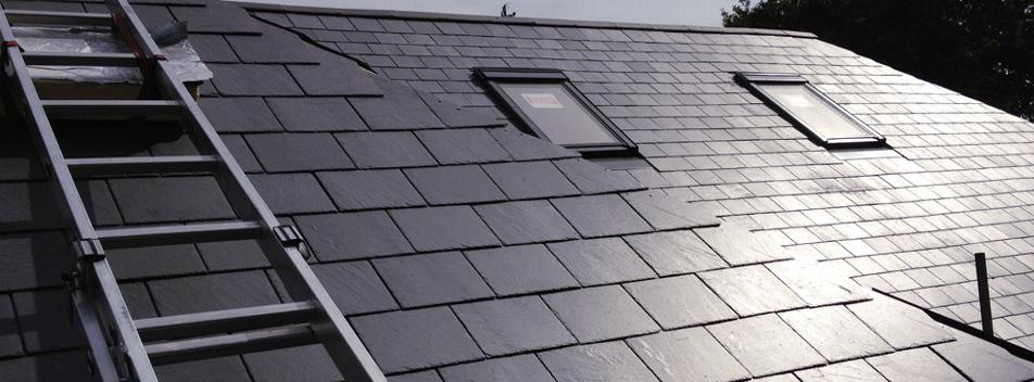 Modern Slate Roof