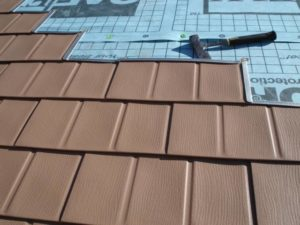 Metal Shingles Installation