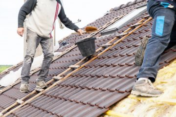 reroofing homes